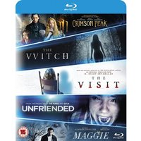 The Witch/Crimson Peak/Maggie/The Visit/Unfriended Blu-ray