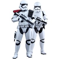 Hot Toys First Order Stormtrooper Officer and Stormtrooper Twin Set