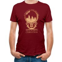 Harry Potter - Magical Time Men's Large T-Shirt - Red