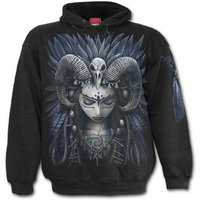 Raven Queen Men's Large Hoodie - Black