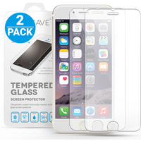 YouSave Accessories iPhone 6 Plus / 6s Plus Glass Screen Protector - Twin Pack