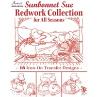 Sunbonnet Sue Redwork Collection : For All Seasons