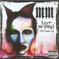 Marilyn Manson Lest We Forget The Best Of Marilyn Manson CD