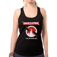 Prophets Of Rage - Circle Stencil Women's X-Large Vest - Black