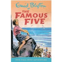 Five Fall into Adventure by Enid Blyton (Paperback, 1997)