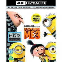 Despicable Me 3 4K UHD Blu-ray