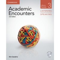 Academic Encounters Level 3 Student's Book Listening and Speaking with DVD : Life in Society