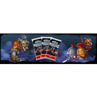 World Of Warriors Series 2 Trading Cards (24 Packs)