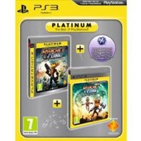 Ratchet & Clank Tools of Destruction & A Crack in Time Game (Platinum)