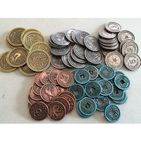 Scythe Metal Coins Accessories Board Game