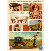 The Young and Prodigious T S Spivet DVD