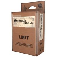 The Survival Horror Simulation RPG Loot Card Deck: Outbreak Undead