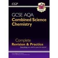 New Grade 9-1 GCSE Combined Science: Chemistry AQA Complete Revision & Practice with Online Edition by CGP Books...