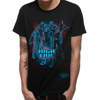 Ready Player One - High Five Men's X-Large T-Shirt - Black