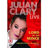Julian Clary Live Lord of the Mince DVD
