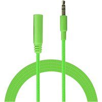 Urbanz INC35P-S1GN Incredi-Cables 3.5mm Corded Audio Extension Cable 1M - Green