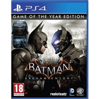 Batman Arkham Knight Game Of The Year (GOTY) PS4 Game