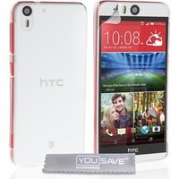 YouSave Accessories HTC Desire Eye Hard Case - Crystal Clear