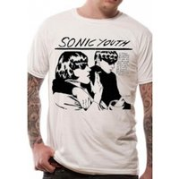 Sonic Youth Goo T-Shirt Large - White