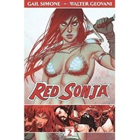 Red Sonja Volume 2 The Art of Blood and Fire Paperback