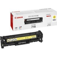 Canon 2659B002 (718Y) Toner yellow, 2.9K pages @ 5% coverage