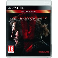'Metal Gear Solid V The Phantom Pain Day One Edition Ps3 Game