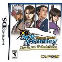 Phoenix Wright Ace Attorney 3 Trials & Tribulations Game DS (#)