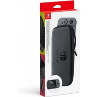 Nintendo Switch Accessory Set (Carrying case + LCD protection sheet)