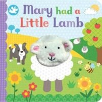 Little Learners Mary Had a Little Lamb Finger Puppet Book