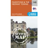Maidstone and the Medway Towns by Ordnance Survey (Sheet map, folded, 2015)