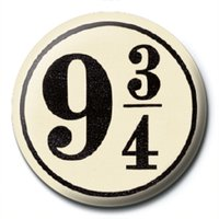 Harry Potter - 9 3/4 Badge