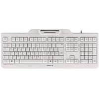 Cherry KC 1000 SC Wired USB Keyboard Grey (UK Layout)
