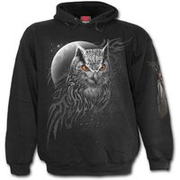 Wings of Wisdom Men's Medium Hoodie - Black