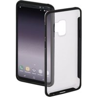 Hama Frame Cover for Samsung Galaxy S9, transparent/black