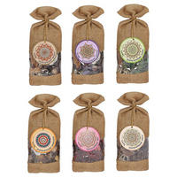 Karma Scented Potpourri in Hessian Bag Pack Of 6