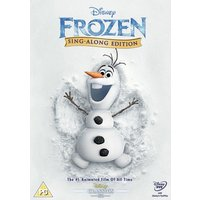 Disney Frozen Sing-Along Edition DVD