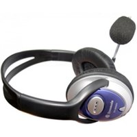 Dynamode DH-660 Binaural Wired Black mobile headset