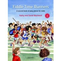 Fiddle Time Runners + CD : A second book of easy pieces for violin