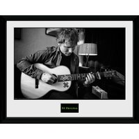 Ed Sheeran Chord Framed Collector Print