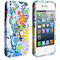 YouSave Accessories iPhone SE Floral Case - Multicoloured