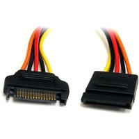 StarTech 12in 15 pin SATA Power Extension Cable
