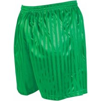 Precision Striped Continental Football Shorts 30-32 inch Green