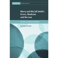 Merry and McCall Smith's Errors, Medicine and the Law : 38