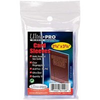 Ultra Pro Storesafe Sleeves - 100 packs
