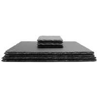 Slate Placemats & Coasters   M&W 8pc New