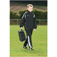 PT Ultimate Tracksuit Trousers Black/Silver/White 28-30