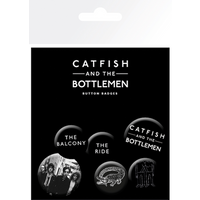 Catfish And The Bottlemen  Mix Badge Pack