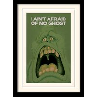 Ghostbusters - Slimer Mounted & Framed 30 x 40cm Print