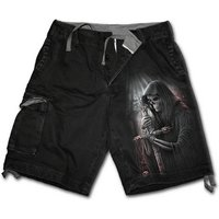 Soul Searcher Men's Small Vintage Cargo Shorts - Black