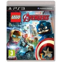 Lego Marvel Avengers PS3 Game (with Thunderbolts Character Pack)
